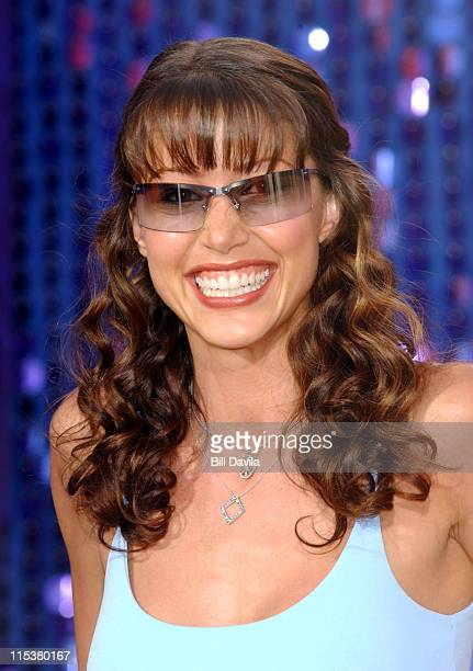 Shannon Elizabeth during 2003 MTV Movie Awards Arrivals at The Shrine Auditorium in Los Angeles California United States
