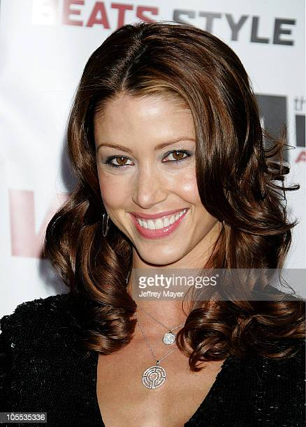 Shannon Elizabeth during 2005 Vibe Awards Arrivals at Sony Studios in Culver City California United States