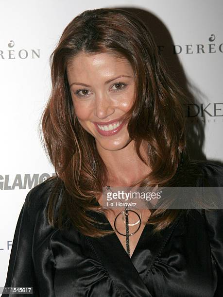 Shannon Elizabeth during 2006 MTV Video Music Awards Glamour 'House of Glam' Styling and Gifting Suite at Soho House at Soho House in New York City...