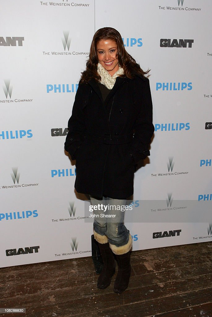 Shannon Elizabeth during 2006 Park City - Philips Hosts Weinstein Co's 'Lucky Number Slevin' Party at Village at the Lift in Park City, Utah, United States.