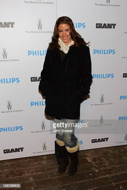 Shannon Elizabeth during 2006 Park City Philips Hosts Weinstein Co's 'Lucky Number Slevin' Party at Village at the Lift in Park City Utah United...