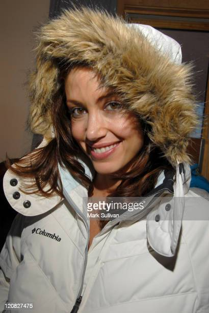 Shannon Elizabeth during 2006 Sundance Film Festival Volkswagen Lounge Produced by Backstage Creations Day 2 at Volkswagen Lounge Loft in Park City...