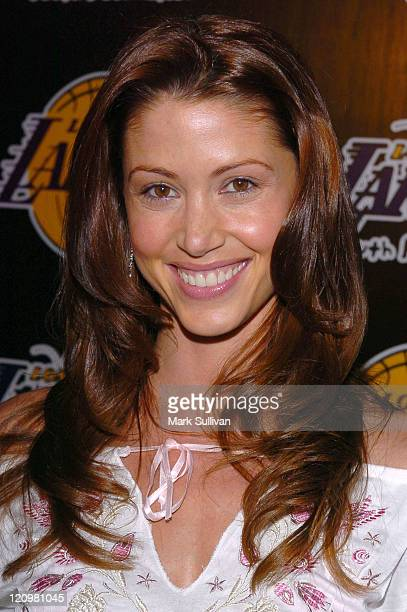 Shannon Elizabeth during 2nd Annual Lakers Casino Night Benefiting the Lakers Youth Foundation Arrivals at Barker Hanger in Santa Monica California...