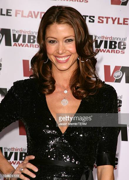 Shannon Elizabeth during 3rd Annual Vibe Awards Arrivals at Sony Studios in Culver City California United States