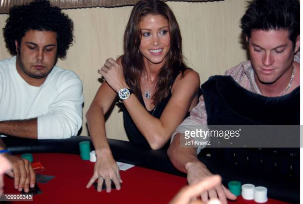 Shannon Elizabeth during Bodogcom Poker Tournament for Animal Avengers at 33 Beverly Park in Beverly Hills California United States
