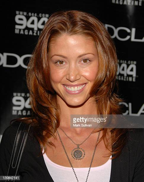 Shannon Elizabeth during DDCLAB LA Boutique Opening June 6 2006 in Los Angeles California United States