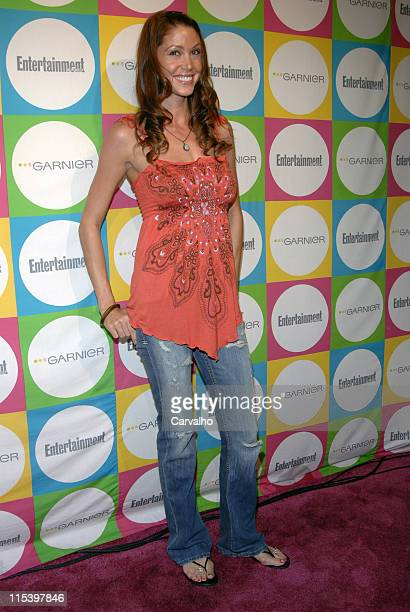Shannon Elizabeth during Entertainment Weekly's 'Must List' Party Outside Arrivals at Deep in New York City New York United States