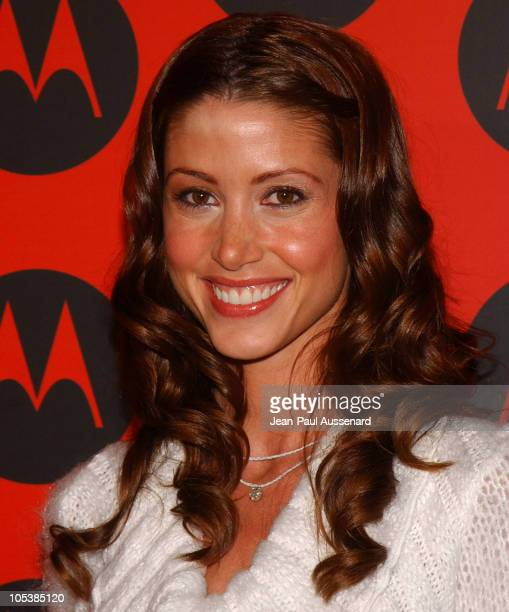 Shannon Elizabeth during Motorola's 6th Anniversary Party Benefiting Toys for Tots Arrivals at Music Box Theatre in Hollywood California United States