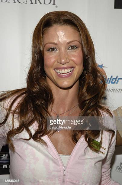 Shannon Elizabeth during *NSYNC's Challenge for the Children VII Celebrity Bowling Arrivals at 10pin in Chicago Illinois United States