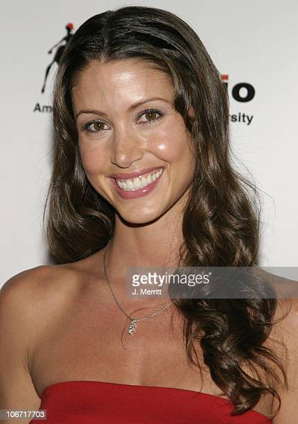 Shannon Elizabeth during Portfolio 2004 and Animal Avengers Host Graduation Fashion Show and Dinner Arrivals at The Beverly Hills Hotel in Beverly...