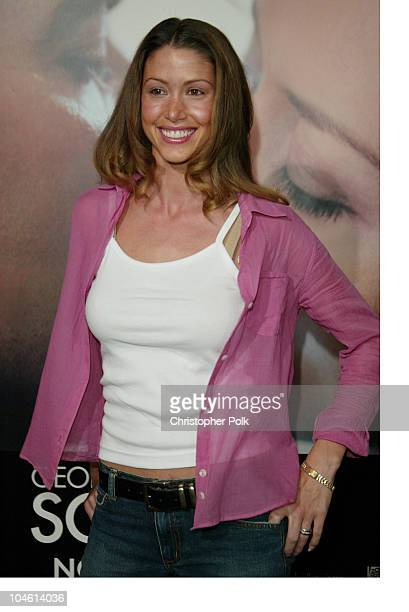 Shannon Elizabeth during Premiere Screening of Solaris at Pacific Cinerama Dome in Hollywood California United States