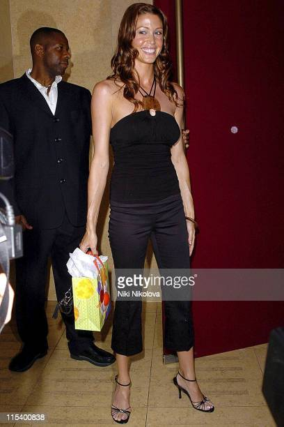 Shannon Elizabeth during Prince of Brunei Birthday Party June 24 2005 at Frankie's Bar Grill in London Great Britain