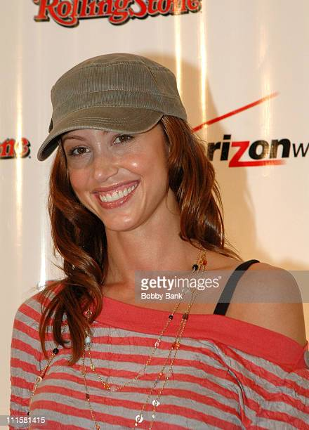 Shannon Elizabeth during Release Party for John Legend's Album 'Once Again' at The Bowery Ballroom in New York City New York United States
