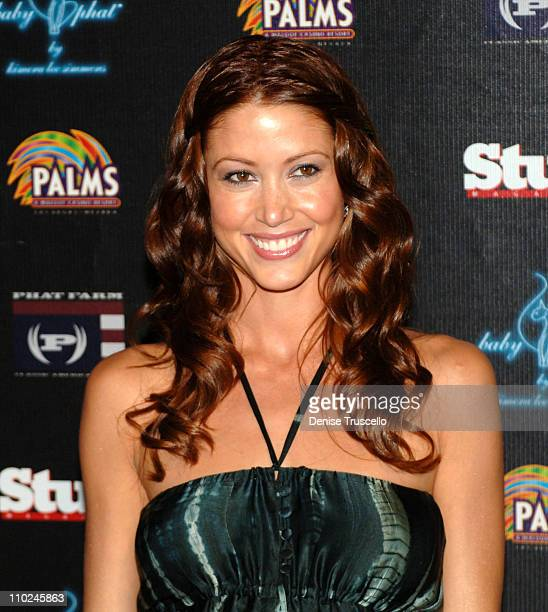 Shannon Elizabeth during Stuff Magazine Casino Weekend PHAT Farm Fashion Show Red Carpet at The Palms Hotel and Casino Resort in Las Vegas Nevada...