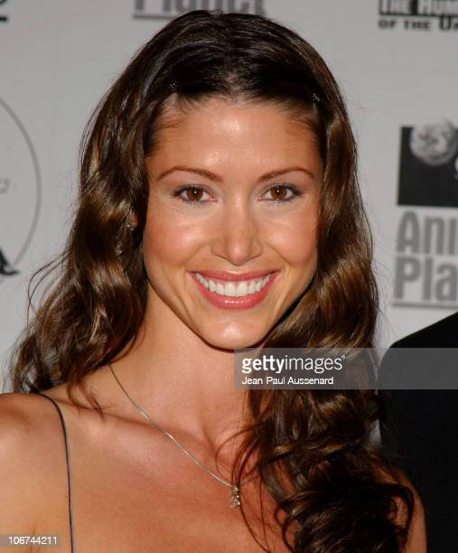 Shannon Elizabeth during The 18th Annual Genesis Awards and 50th Anniversary of the Humane Society of the United States Pressroom at Beverly Hilton...