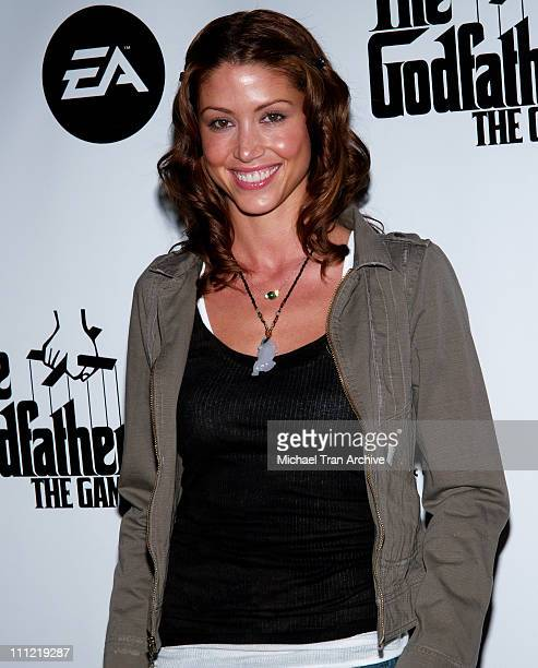 Shannon Elizabeth during 'The Godfather The Game' Launch Party Hosted by Snoop Dogg at Privilege in West Hollywood California United States