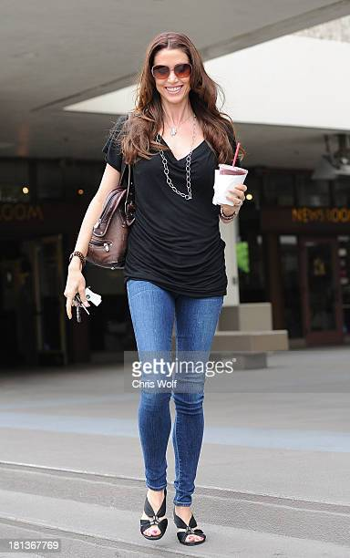 Shannon Elizabeth is seen on September 20 2013 in Los Angeles California
