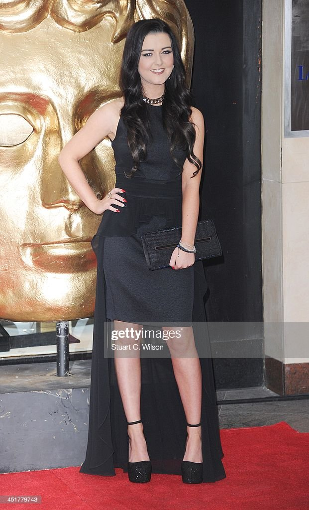 Shannon Flynn arrives at the British Academy Children's Awards at the London Hilton on November 24, 2013 in London, England.