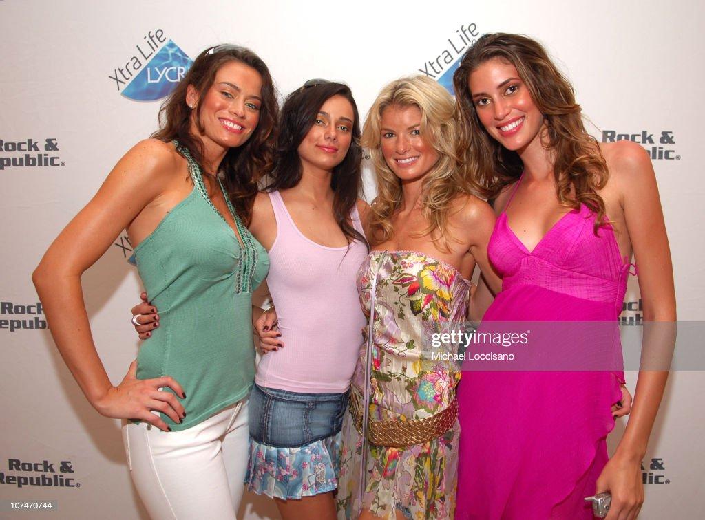 Shannon Hughes, Alisha Hall, Marisa Miller and Bianca Klmt