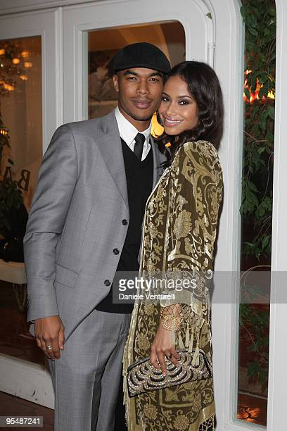 Shannon Kane and her boyfriend attend the third day of the 14th Annual Capri Hollywood International Film Festival on December 29 2009 in Capri Italy