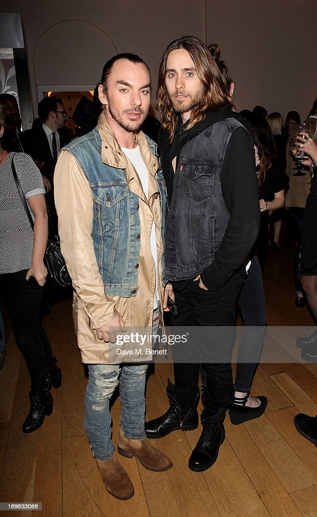 Shannon Leto (L) and Jared Leto attend the Esquire Summer Party in association with Stella Artois at Somerset House on May 29, 2013 in London, England.