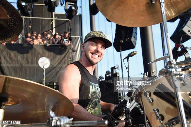 Shannon Leto of Thirty Seconds to Mars performs onstage during the 2017 Firefly Music Festival on June 18 2017 in Dover Delaware