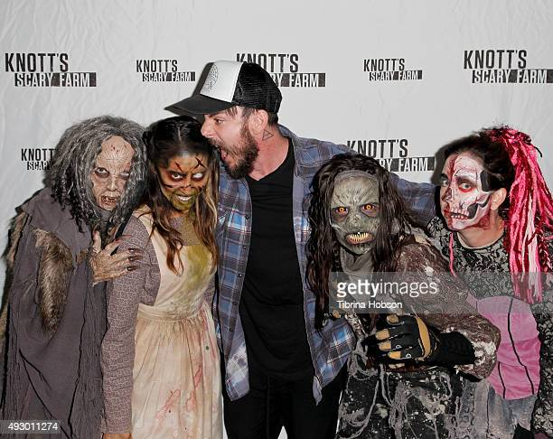 Shannon Leto visits Knott's Scary Farm at Knott's Berry Farm on October 16 2015 in Buena Park California
