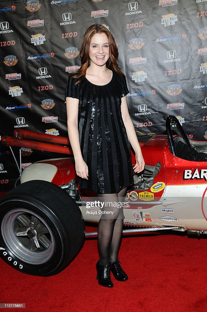 Shannon Lucio attends the Hollywood Celebrates 100th Anniversary Of The Indianapolis 500 at The Colony on April 13, 2011 in Los Angeles, California.