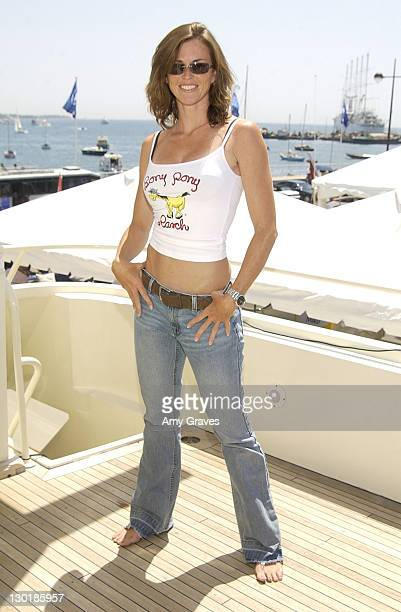 Shannon Michelle during Cannes 2002 Hollywood Yacht sponsored by Hollywood Celebrity Diet Day 6 at The Hollywood Yacht in Cannes France