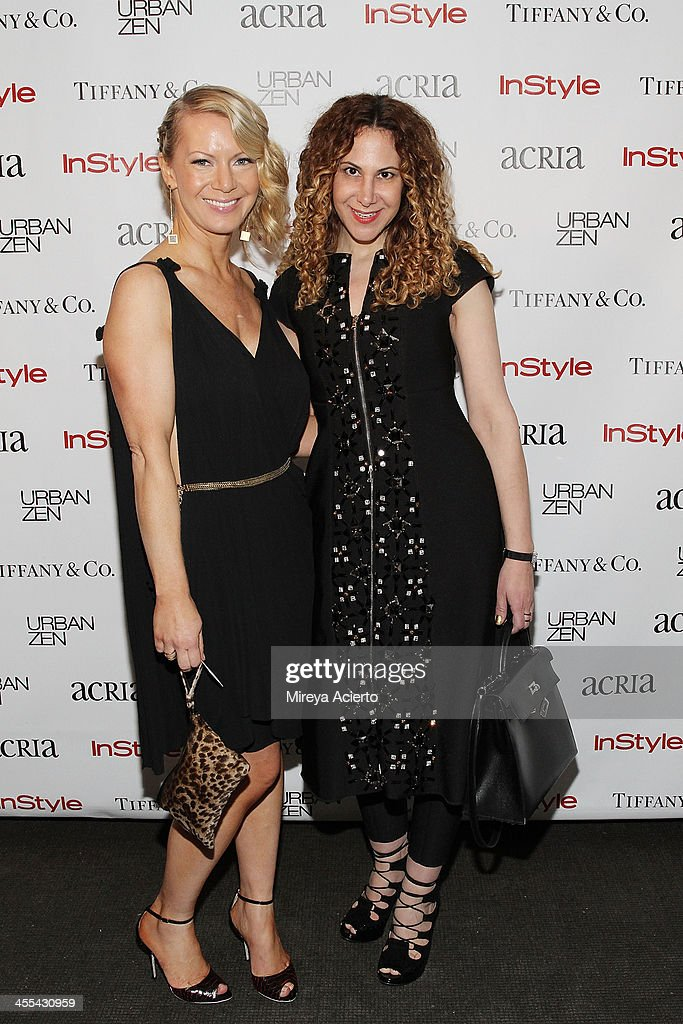 Shannon Mikolas and Alyson Cafiero attend the ACRIA annual holiday dinner benefiting AIDS research on December 11, 2013 in New York, United States.