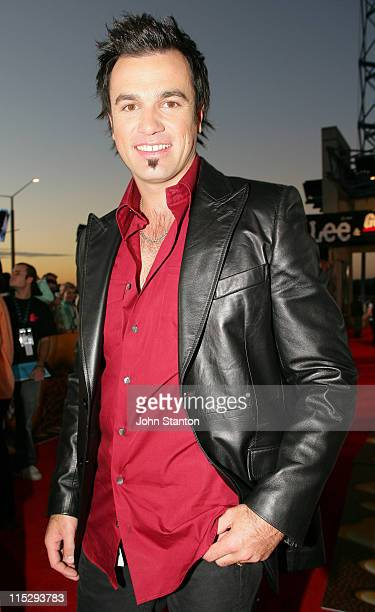 Shannon Noll during MTV Australia Video Music Awards 2006 Red Carpet at Superdome in Sydney Australia