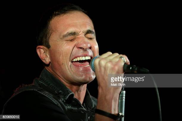 Shannon Noll performs on stage at The Ettamogah Hotel on July 22 2017 in Sydney Australia