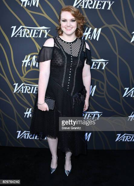 Shannon Purser arrives at the Variety Power Of Young Hollywood at TAO Hollywood on August 8 2017 in Los Angeles California