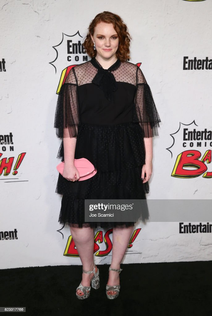 Shannon Purser at Entertainment Weekly's annual Comic-Con party in celebration of Comic-Con 2017 at Float at Hard Rock Hotel San Diego on July 22, 2017 in San Diego, California.
