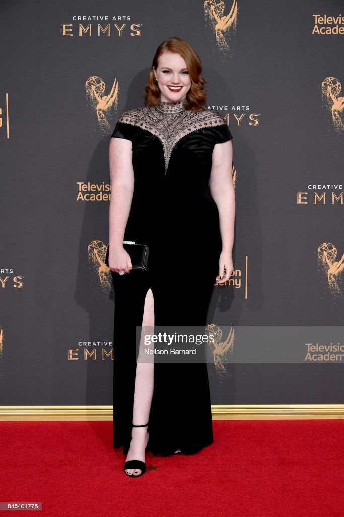 Shannon Purser attends day 2 of the 2017 Creative Arts Emmy Awards on September 10, 2017 in Los Angeles, California.