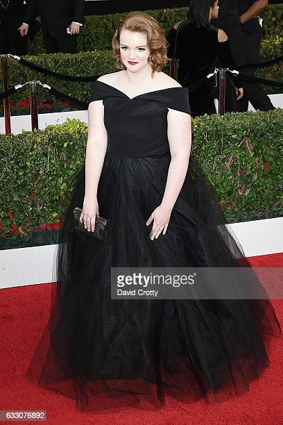 Shannon Purser attends the 23rd Annual Screen Actors Guild Awards Arrivals at The Shrine Expo Hall on January 29 2017 in Los Angeles California