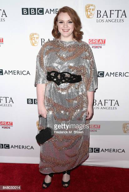 Shannon Purser attends the BBC America BAFTA Los Angeles TV Tea Party 2017 at The Beverly Hilton Hotel on September 16 2017 in Beverly Hills...