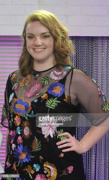 Shannon Purser visits the Young Hollywood Studio on June 15 2017 in Los Angeles California
