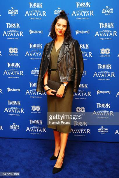 Shannon Redstall arrives ahead of The Cirque Du Soleil Toruk Opening Night on September 15 2017 in Auckland New Zealand