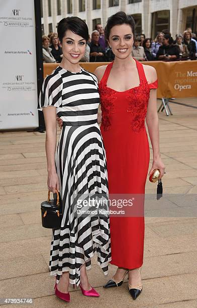 Shannon Rugani and Leanne Cope attend the American Ballet Theatre's 75th Anniversary Diamond Jubilee Spring Gala at The Metropolitan Opera House on...