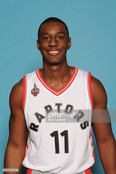 Shannon Scott of the Toronto Raptors poses for a photo during media day on September 28 at the Air Canada Centre in Toronto Ontario Canada NOTE TO...