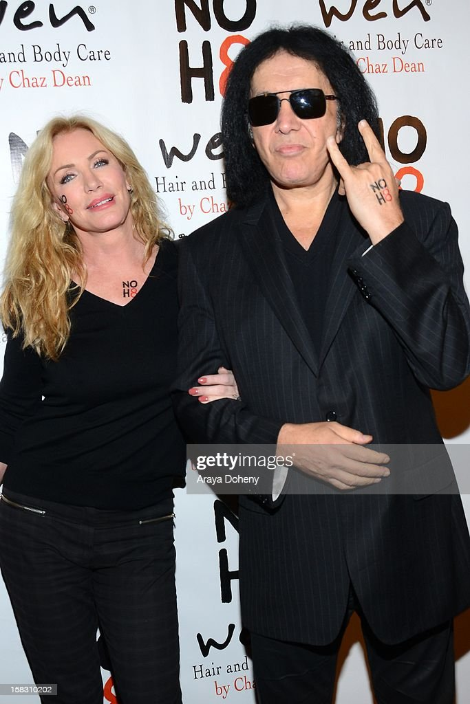 <a gi-track='captionPersonalityLinkClicked' href=/galleries/search?phrase=Shannon+Tweed&family=editorial&specificpeople=226528 ng-click='$event.stopPropagation()'>Shannon Tweed</a> and <a gi-track='captionPersonalityLinkClicked' href=/galleries/search?phrase=Gene+Simmons&family=editorial&specificpeople=138593 ng-click='$event.stopPropagation()'>Gene Simmons</a> arrive at the NOH8?s 4th Anniversary celebration at Avalon on December 12, 2012 in Hollywood, California.