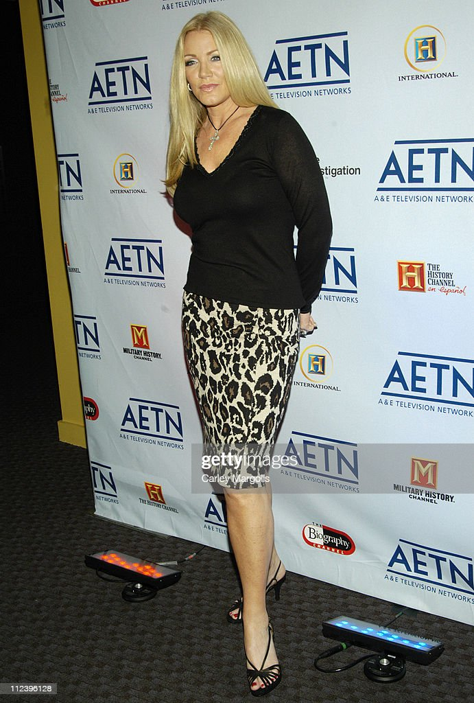 Shannon Tweed during AE Unveils Fall 2006 Season Lineup at the AE Network Upfronts at Time Warner Center Jazz at Lincoln Center in New York City New...