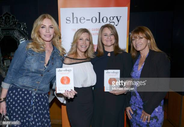 Shannon Tweed Kyn Douglas Dr Sherry A Ross and Jane Seymour attends Dr Sherry A Ross 'sheology' Book Launch Event at Katsuya on April 13 2017 in Los...