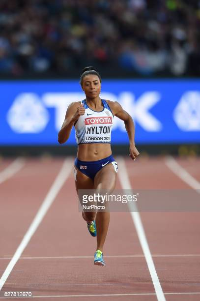 ShannonHYLTON Great Britain during 200 meter heats in London at the 2017 IAAF World Championships athletics on August 8 2017