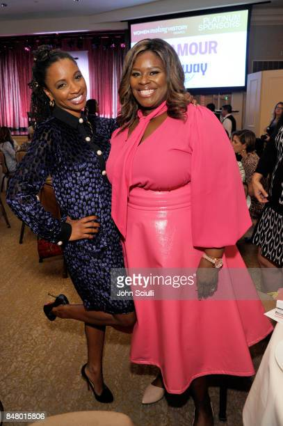 Shanola Hampton and Retta at the Women Making History Awards at The Beverly Hilton Hotel on September 16 2017 in Beverly Hills California
