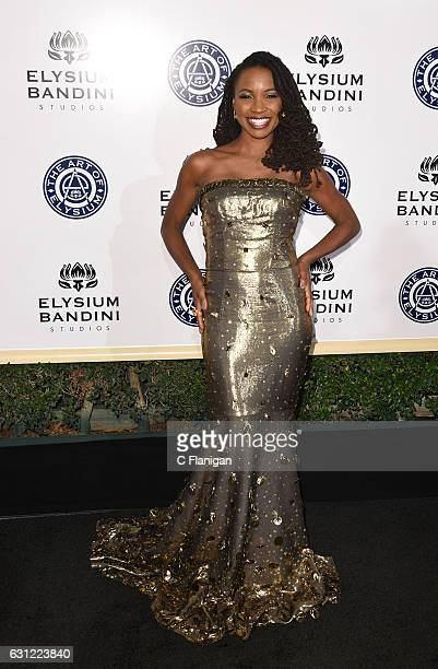 Shanola Hampton arrives at The Art of Elysium presents Stevie Wonder's HEAVEN Celebrating the 10th Anniversary at Red Studios on January 7 2017 in...
