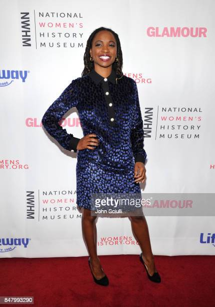 Shanola Hampton at the Women Making History Awards at The Beverly Hilton Hotel on September 16 2017 in Beverly Hills California
