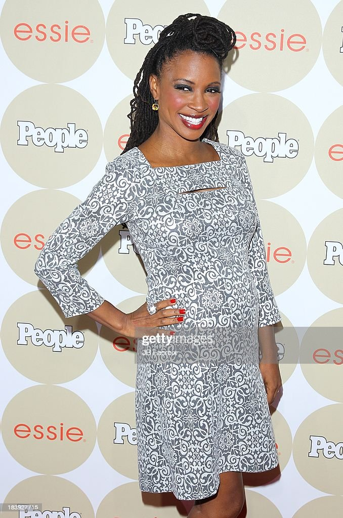 <a gi-track='captionPersonalityLinkClicked' href=/galleries/search?phrase=Shanola+Hampton&family=editorial&specificpeople=2129035 ng-click='$event.stopPropagation()'>Shanola Hampton</a> attends the People's One To Watch Event held at Hinoki & The Bird on October 9, 2013 in Los Angeles, California.