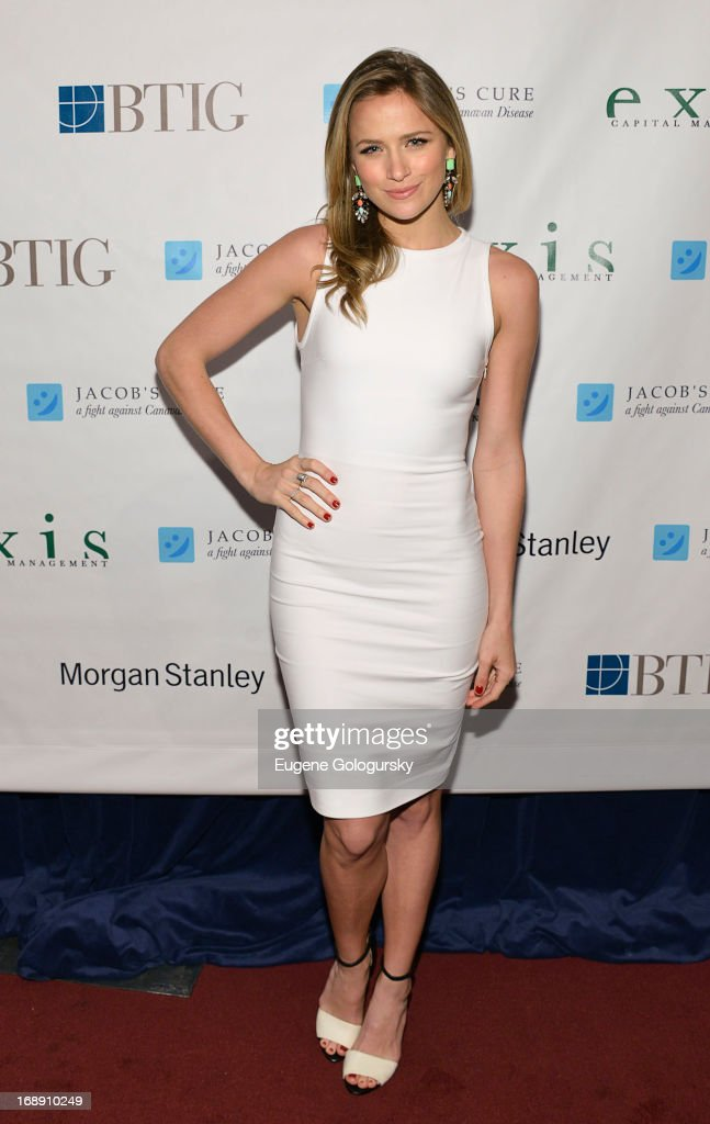 Shantel Van Santel attends the 2013 Jacob's Cure 'Dream Big' Gala at Pier Sixty at Chelsea Piers on May 16, 2013 in New York City.